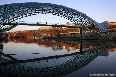 Tbilisi Friedensbrücke