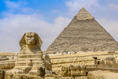 Ägypten Urlaub Pyramiden von Gizeh