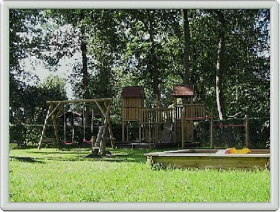 Spielplatz auf dem Hunte-Camp