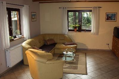 Wohnzimmer Ferienhaus Dötlingen