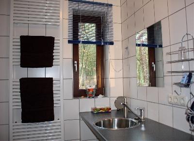 Badezimmer Ferienhaus Casa Carolus