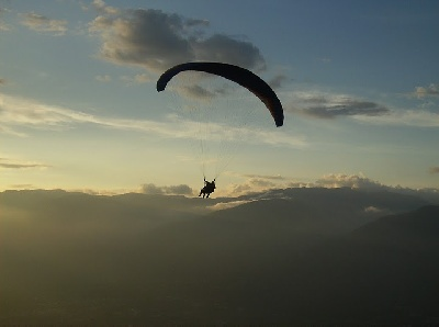 Paragliding Merida