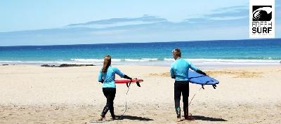 Surfen gehen im Surfurlaub auf den Kanaren!