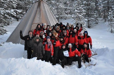 Singlereise an Weihnachten und Silvester nach Lappland