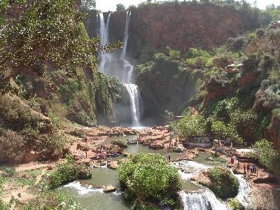 Mit Geländewagen zum höchsten Wasserfall Nordafrikas in Marokko
