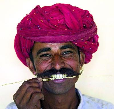 Indien - Rajasthan - Maharascha