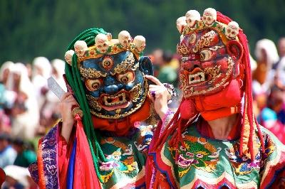 Festivitäten in Bhutan